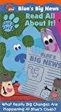 Blue's Clues - Blue's Big News - Read All About It! [VHS]