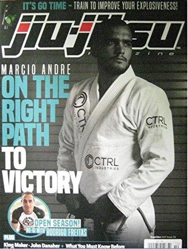 Amazon com : September/October 2017 Jiu Jitsu Magazine Marcio Andre