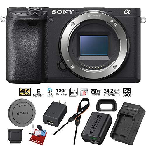 Sony Alpha a6400 Mirrorless Digital Camera (Body Only) – New – 24.2 MegaPixels – 4K Video – ILCE-6400/B