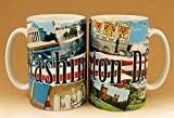 Washington D.C. Mug - Abraham Lincoln Series, Washington DC Mugs, Washington DC Souvenirs, Washington DC Coffee Mugs