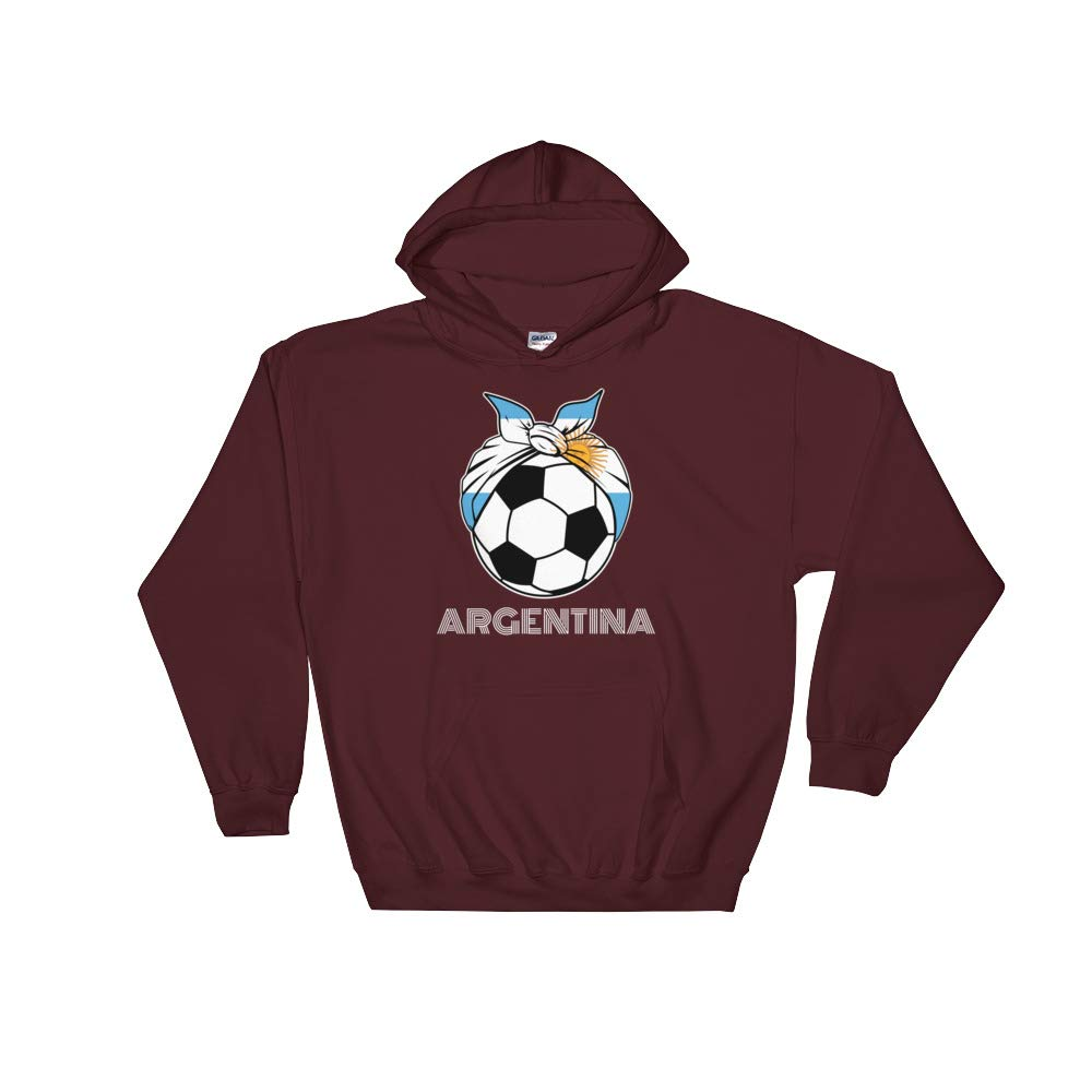 Amazingly Good Products Argentina Womens Soccer Kit France 2019 Girls Football Unisex Hooded Sweatshirt