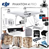 DJI Phantom 4 Pro Explorers Bundle: Includes High Capacity Intelligent Flight Battery, Backpack Case Pack - Camo Yellow, Sun Shade, High Speed 32GB MicroSD Card and more...