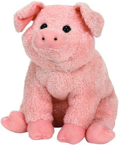 Ty Beanie Baby ~ WILBUR the Pig ~Charlotte's Web Movie~ MINT