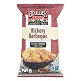 Boulder Canyon Natural Foods Kettle Chips - Hickory Barbeque - Case of 12 - 5 oz.