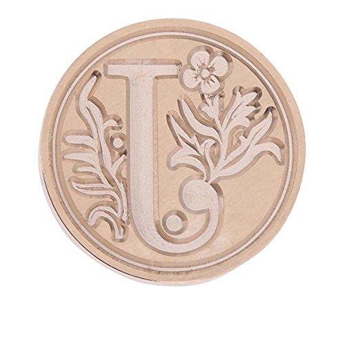 Flower Envelope Seals (Wax Sealing Stamp, Nelnissa Retro Flower Letter Envelope Sealing Wax Copper Seal Stamp Post Decor(J))