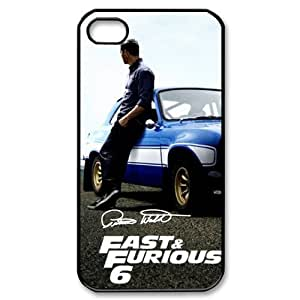 Paul Walker Fast Furious 6 iPhone 4 4S On Your Style Christmas Gift Cover Case