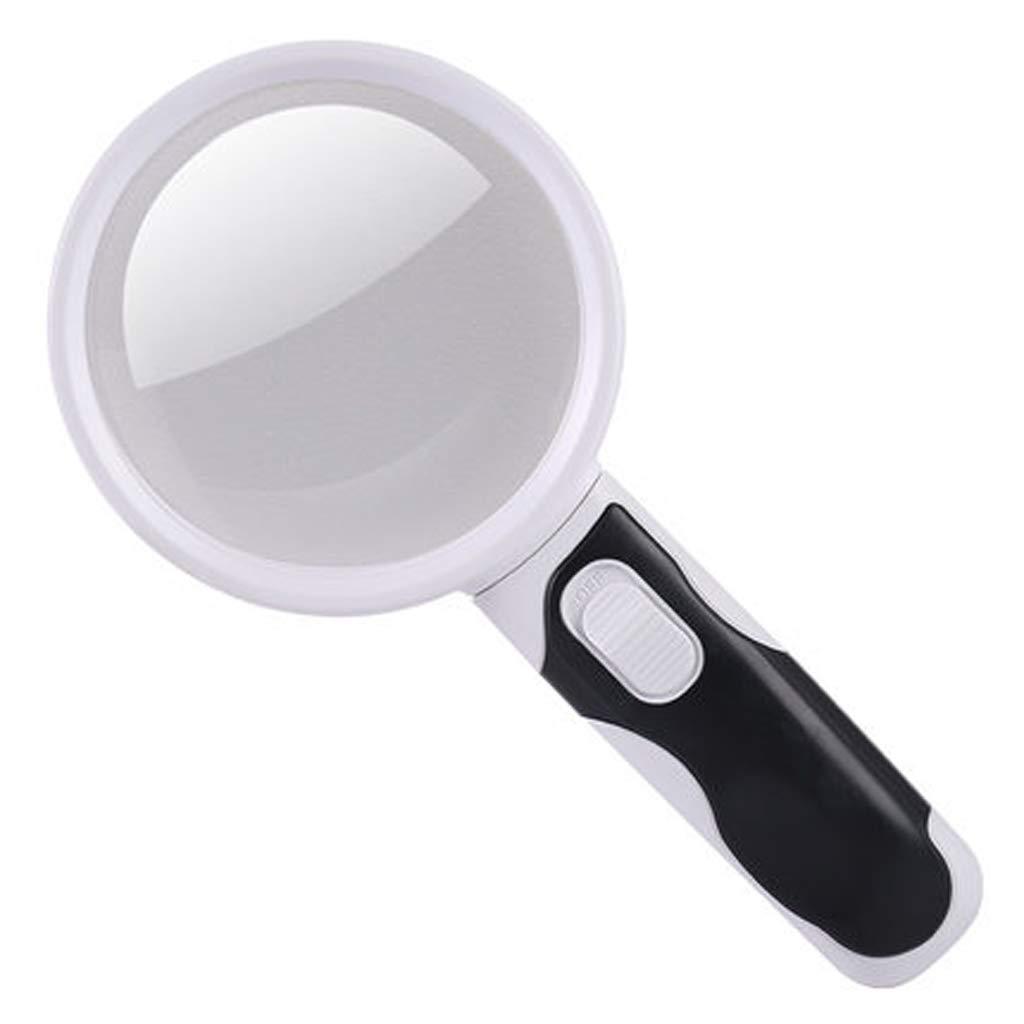 RFJJ 20 veces la combinación óptica de alta que definición del PDA de la lente de lectura que alta lee la lupa mayor de la iluminación de 100m m -Adatto ai sussidi visivi 383970