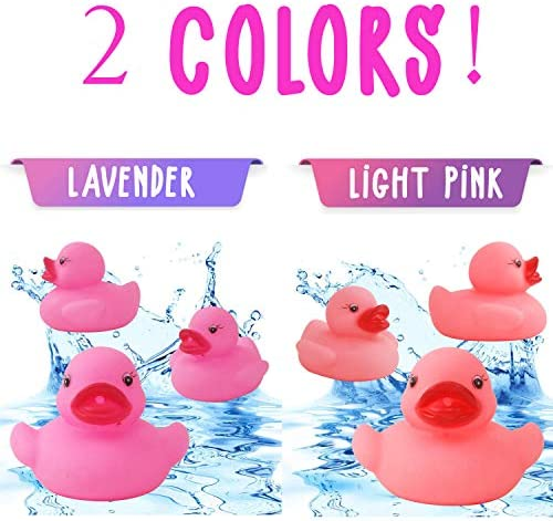 Fun Kids Water Play Flamingo Bath Time Duck Light Up Sensory Aid Party Bag Toy