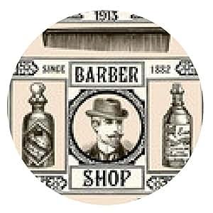 alfombrilla de ratón peluquería - ronda - 20cm