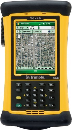 Navigation Keypad (Trimble Navigation Nomad 900LE Rugged Handheld Computer, Numeric Keypad, 806MHz Processor, 128MB RAM/1GB Flash, 5200mAh Lithium-ion Battery NMDAJY-111-00 by Trimble Navigation)