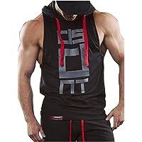 Hombre Camisetas Elástica de Fitness sin Mangas Tank