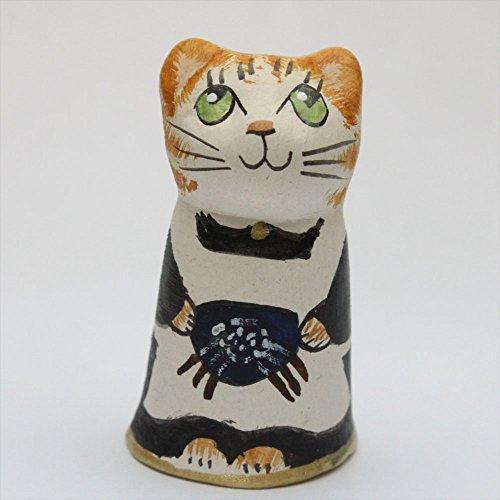 ソーイングキャット レース編み 茶トラ ネコ キャット イギリス トラネコ 猫 シンブル 指貫き メリーフィールド ソーイングコレクション ハンドメイド ハンドペイント 手作り 編み物 お母さん マザー