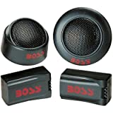 Pair Boss Tw15b 250w Micro Dome Tweeters 250 Watt