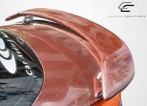 1 Piece Body Kit Brightt Carbon Creations ED-BKC-320 M-1 Speed Wing Trunk Lid Spoiler Compatible With RX8 2004-2011