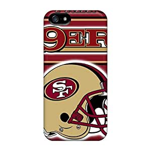 For Iphone 5/5s Premium Tpu Case Cover San Francisco 49ers Protective Case