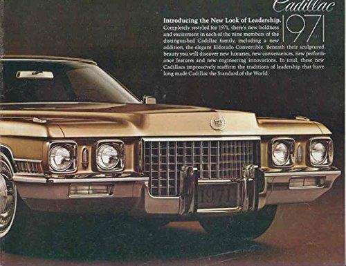 1971 Cadillac New Look of Leadership Brochure by Cadillac
