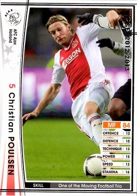 Amazon.com: wccf 12 – 13/153/AFC Ajax/Christian Poulsen ...