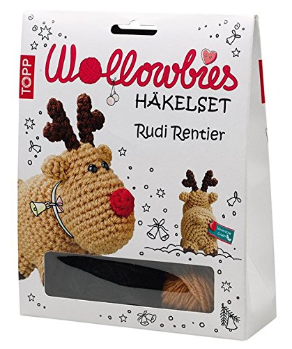 Wollowbies Häkelset Rudi Rentier Anleitung Steckbrief Und Material