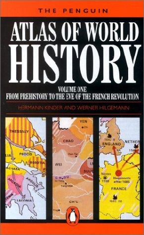 The Penguin Atlas of World History, Vol. 1
