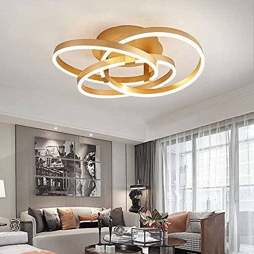 Maxax LED 3 Ring Chandelier