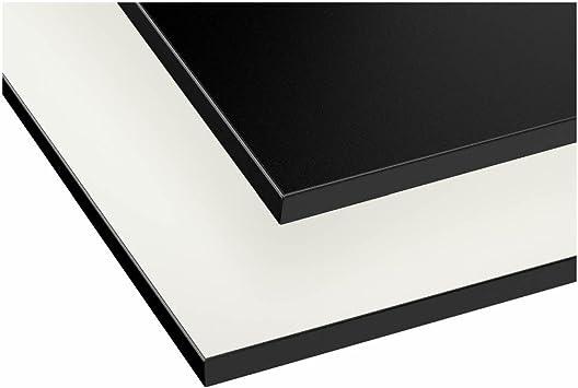 Ikea Asie Gottskar Plan De Travail Double Face Blanc Noir Avec