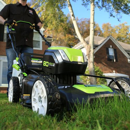 cordless lawn mower reviews