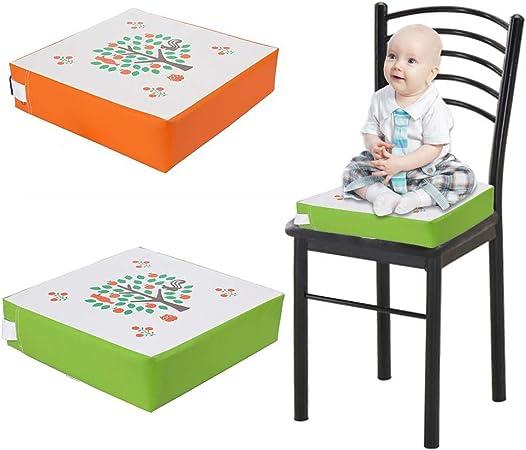 Seasaleshop2 Chaise De Salle À Manger pour Enfants, Bébé Rehausseur De Siège Élégant Réglable Lavable Non Slip, Chaises Surélevées Confortable Tapis