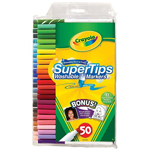 Crayola Washable Super Silly Scents
