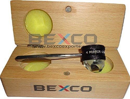 4 Mirror Black Gonioscope/Four Mirror Gonio Lenses Best Quality Original Item of Brand BEXCO
