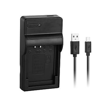 [Cargador Rápido] LP-E12 Reemplazo de Cargador Rápido USB para Batería Canon LPE12, Rebel SL1, EOS-M, EOS M2, EOS M10, Cámaras EOS M100, reemplaza el ...