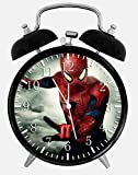 New Spiderman Alarm Desk Clock 3.75'' Room Decor X52 Will Be a Nice Gift