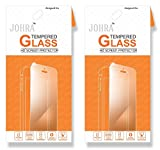 Johra Real HD+ Tempered Glass For LG X Power Tempered Glass - Pack of 2