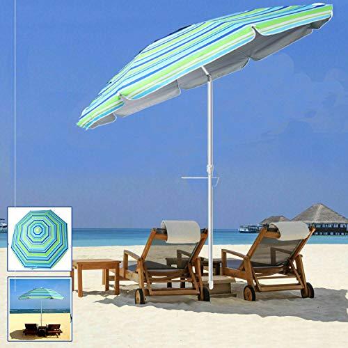 - DSA Trade Shop 7 Feet Outdoor Sunshade Beach Umbrella with Sand