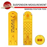 Suspension Measurement Marking Position Tool - Picture Hanging Tools for Measuring the Suspension and Horizontal Wall of the Roof, Perfect  To  Hang Pictures, Mirrors and Clocks - Mosoki