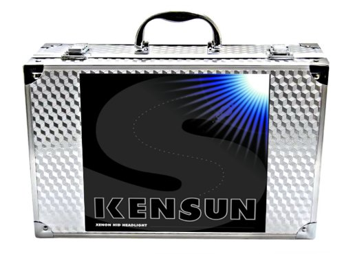 HID Xenon Headlight Conversion Kit by Kensun, H13 Dual-Beam Bi-Xenon, 10000K – 2 Year Warranty