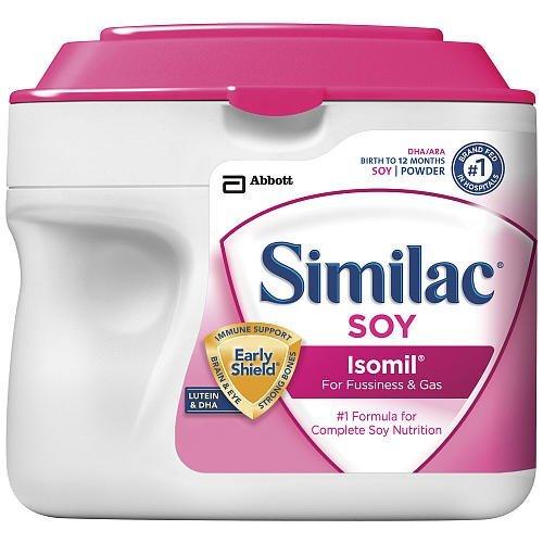 Similac SOY Isomil Powder, 1.45LB (6 PACKs)