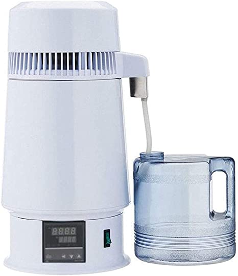 MKULOUS 4L Destilador De Agua Purificador De Acero Inoxidable ...