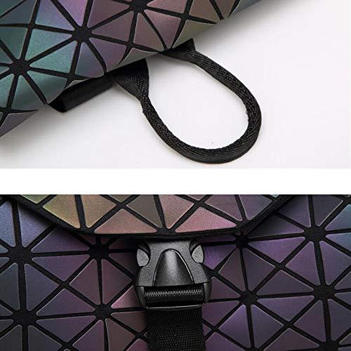 Square Sac Diamant 's Femme Pliant Nouveau Paquet En Cube De Superbe À Surpiqué Bandoulière Lumineux Rubik Main Géométrique Voyage Pour dzBf6HB
