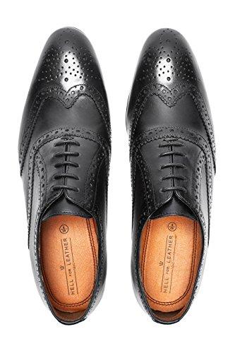 next Hombre Zapato Oxford Corte Regular Negro