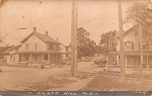 Residential View Slate Hill  New York Postcard