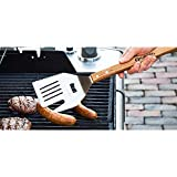 FlipFork Boss - 5 in 1 Grill Spatula With Knife and