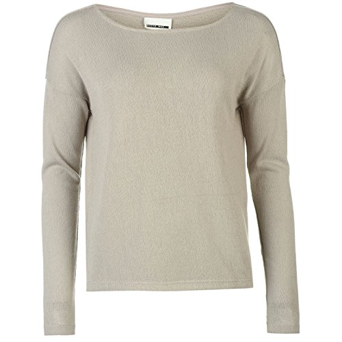 Sueter Blusa Grey May De Vestir Ash Jumper Punto Mujer Boat Fashion Casual Noisy Neck XgWv4zgO