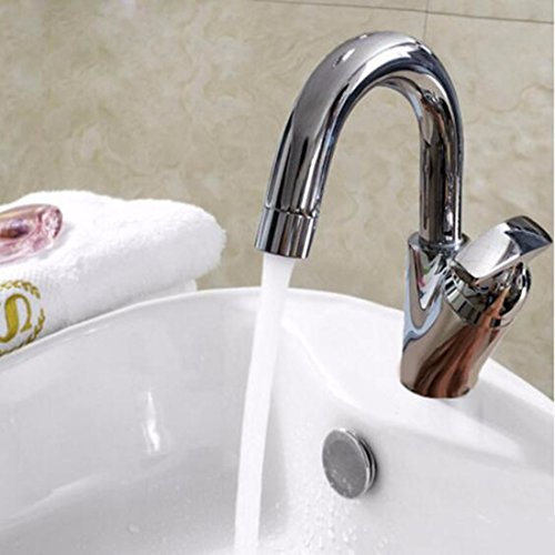Wash Basin Basin Hot And Cold Water Tap Swivel Faucet Splash Head Splash Head by SJQKA