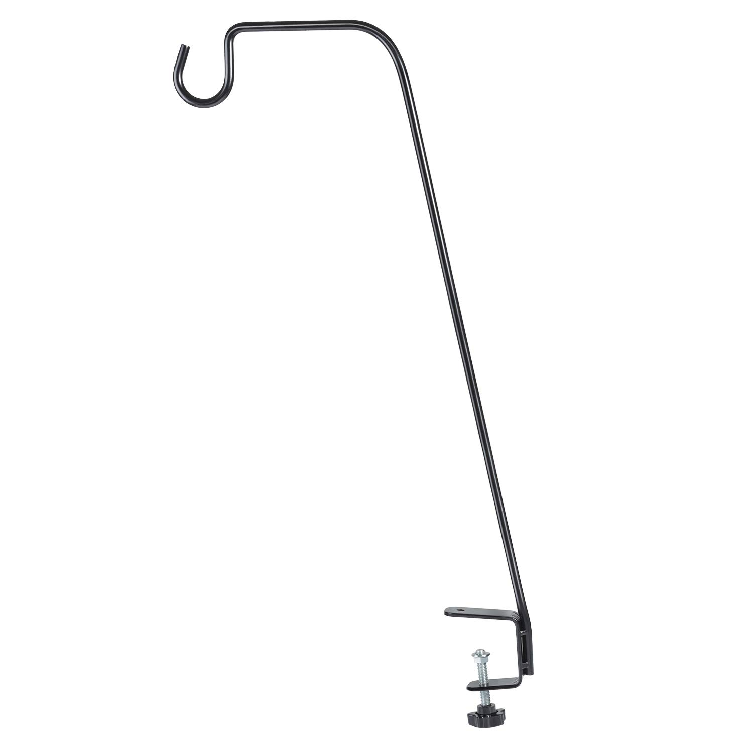BOLITE 18013 Deck Bird Feeder Hanger, Heavy Duty Extended Reach Deck Hook for Bird Feeders, Planters, Lanterns, Wind Chimes, Holiday Decorations and More