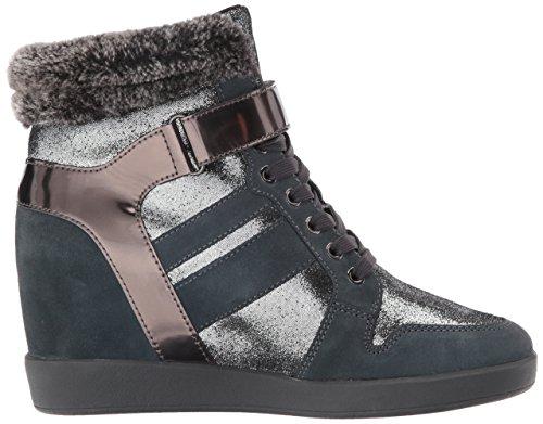 Botas para mujer, color gris , marca ARMANI JEANS, modelo Botas Para Mujer ARMANI JEANS PEZ Gris gris