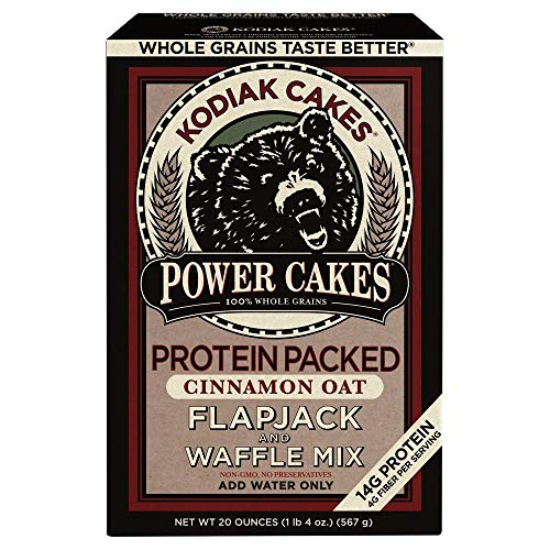 Power Cakes Cinnamon Oat Flapjack & Waffle Mix (Pack of 16) by Generic (Image #4)