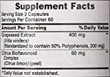 Puritans Pride Grapeseed Extract 200 Mg