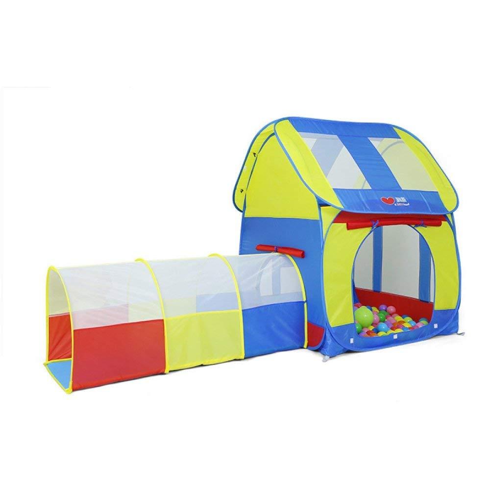 DLLzq Baby-Indoor-Spielzelt Ocean Ball Pool Tunnel Röhrensatz Kinderzelt Babyspielzeug Haus
