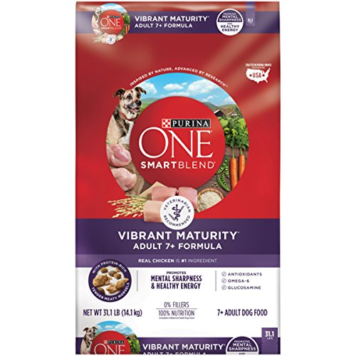Purina ONE SmartBlend Vibrant Maturity Adult 7+ Formula Dry Dog - The Mall Hours Of America