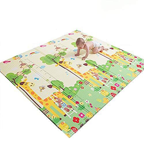 100x150cm Spielmatte Baby Schadstofffrei Weiche Krabbelmatte aus Rutschfesten Material Schadstofffreie Baby Spielmatte,Krabbeldecke f/ür Baby,Spielmatte Kinder,Spielteppich Baby PLAYGROUND